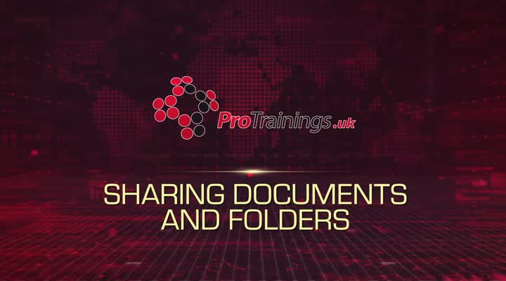 Module 6 - Sharing Documents and Folders