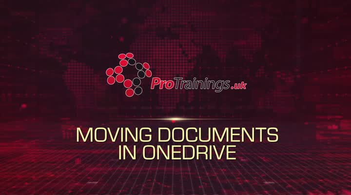 Module 11 - Moving Documents in OneDrive