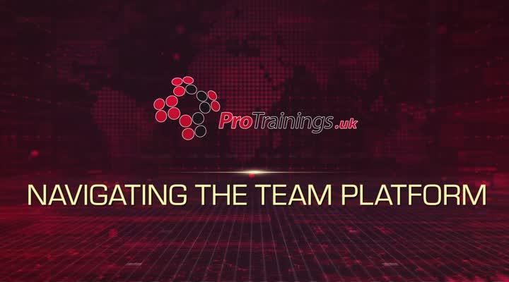 Module 1 - Navigating Team Platform