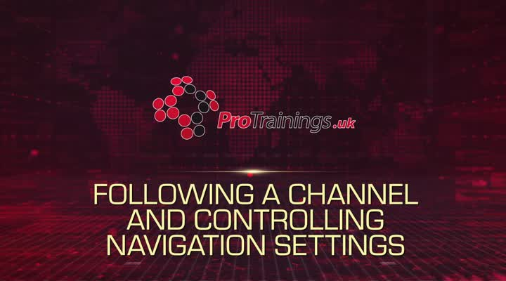 Module 5 - Follow a Channel and Control Notifications