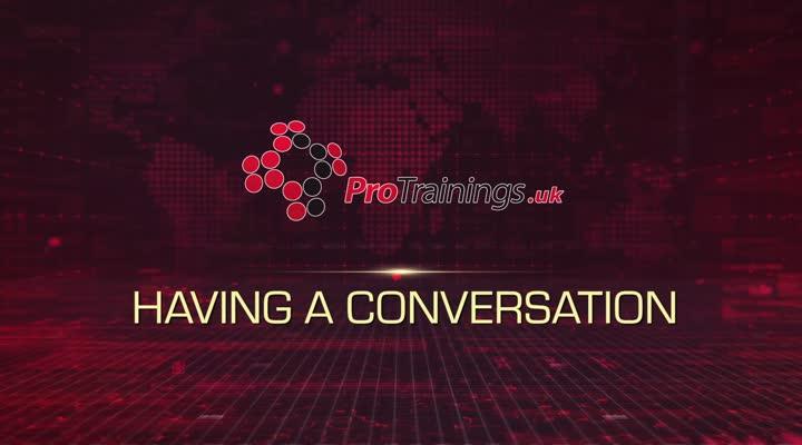 Module 6 - Having a Conversation