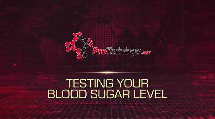 Testing Blood Sugar - Live