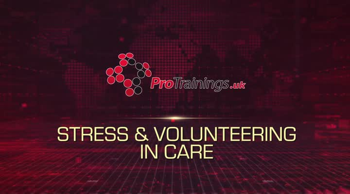 Stress and volunteering in care