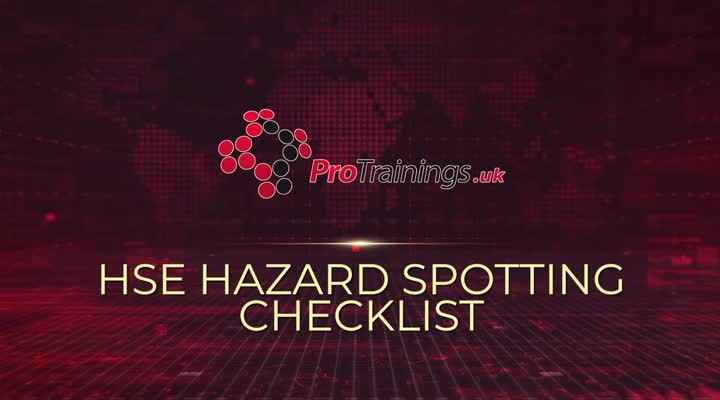 HSE Hazard Spotting Checklist
