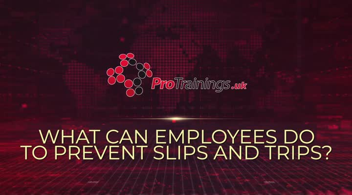 What Can Employees do to Prevent Slips and Trips?