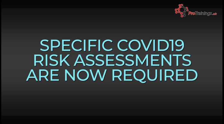 Covid 19 Risk assessments