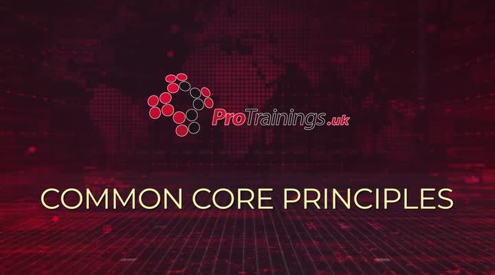 So what is meant by the Common Core Principles?
