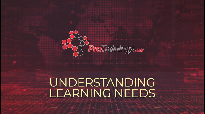 Understanding learners needs