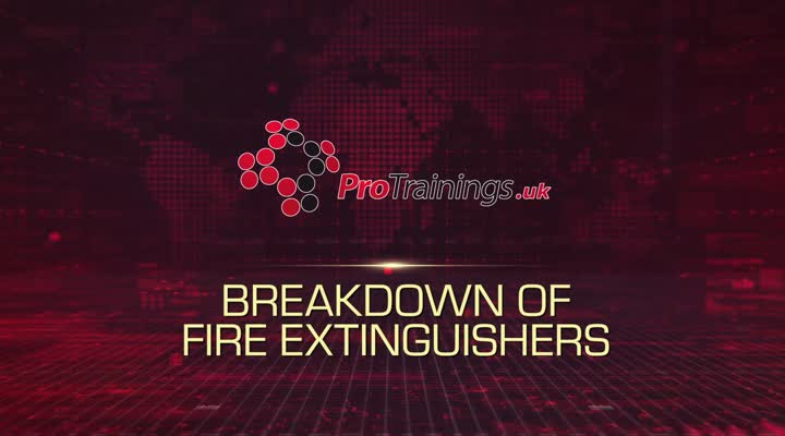 Breakdown of a Fire Extinguisher