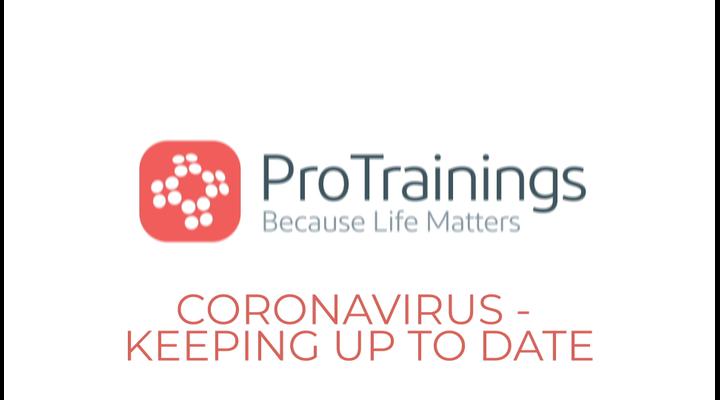 Coronavirus - How to keep up to date
