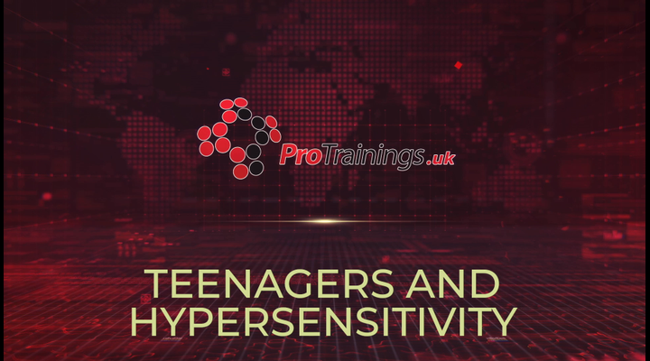 Teenagers and hypersensitivity