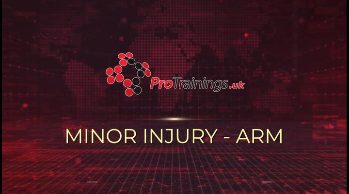 Minor arm injury