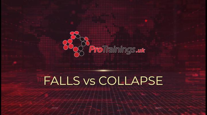 Falls vs collapse