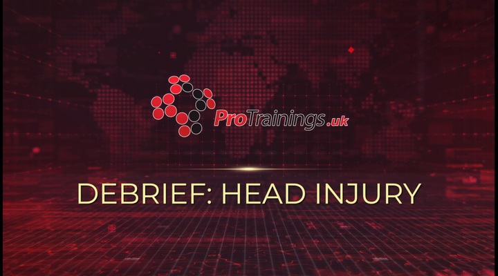 Debrief - Head injury