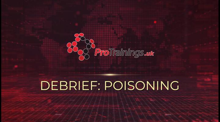 Debrief - Poisoning