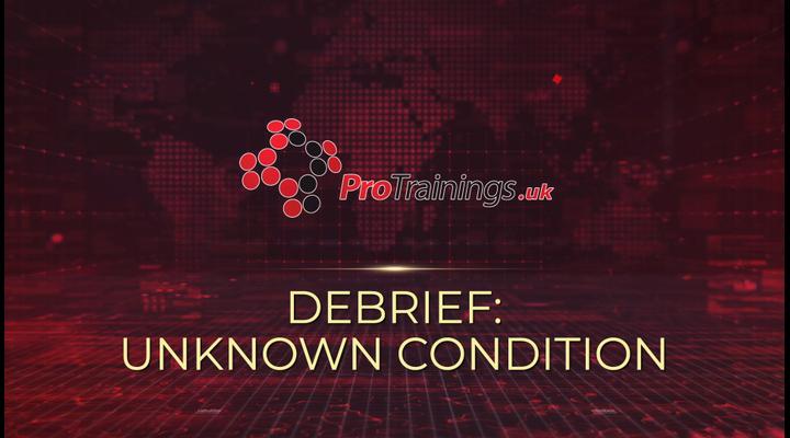 Debrief - Unknown condition - Possible stroke