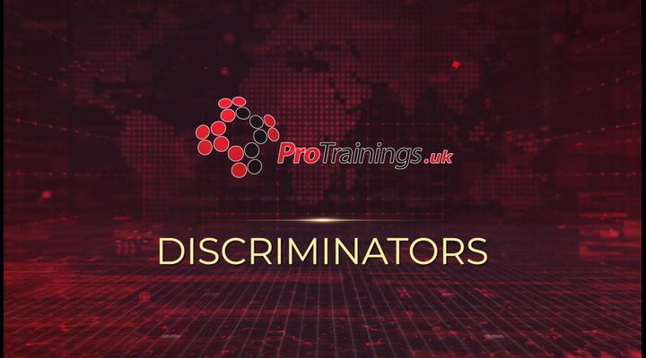 Discriminators