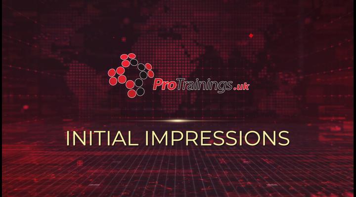 Initial impression
