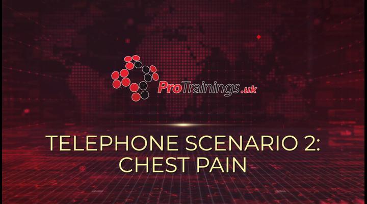 Scenario 2 - Chest pain