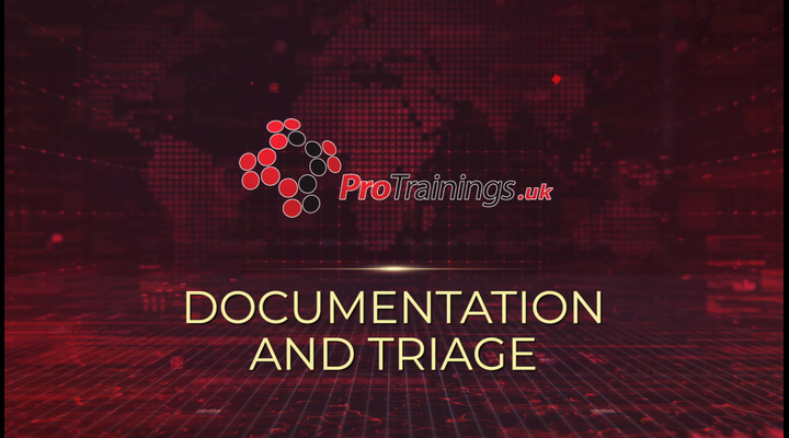 Documentation and triage