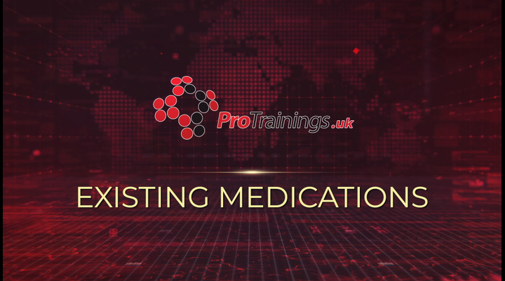 Existing medications
