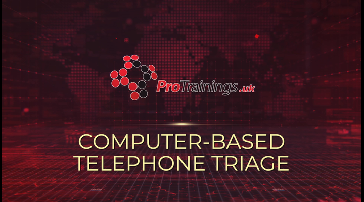 Computer-based telephone triage