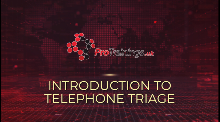 Introduction to telephone triage