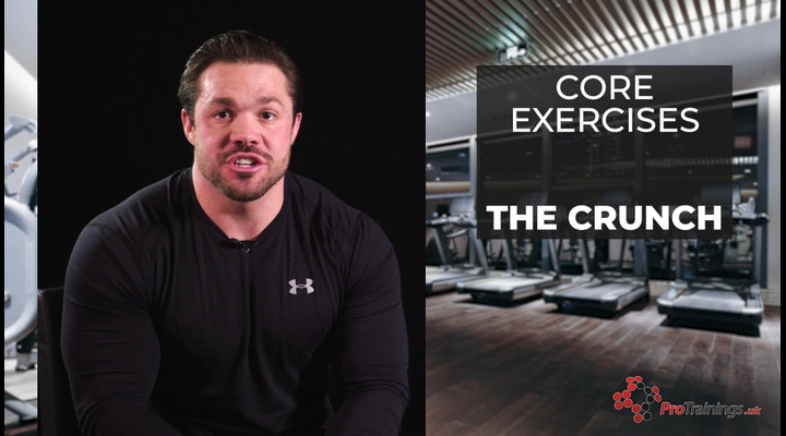 Core Exercises - Crunch