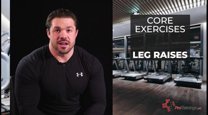 Core Exercises- Leg Raises