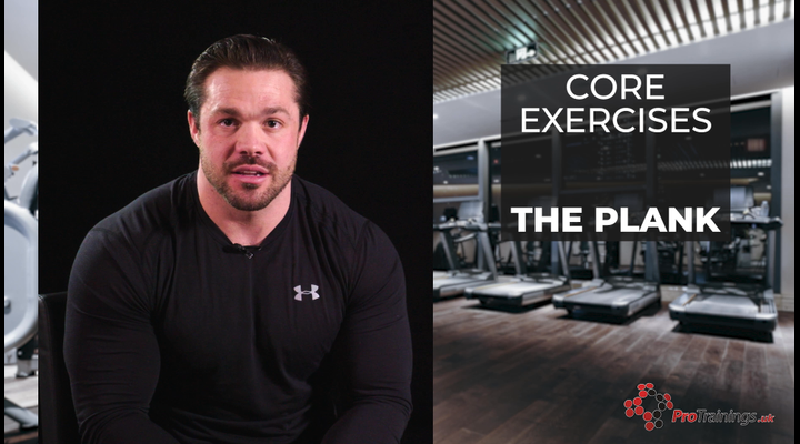 Core Exercises -  Plank
