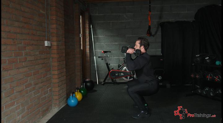 Dumbbell exercises - lower body