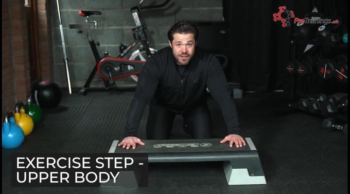 Step - Upper body exercises