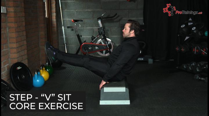 Step - Core exercises