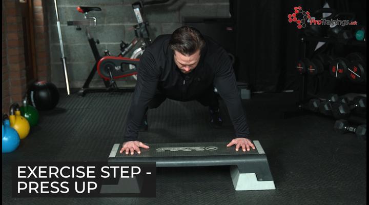 Step - Press up