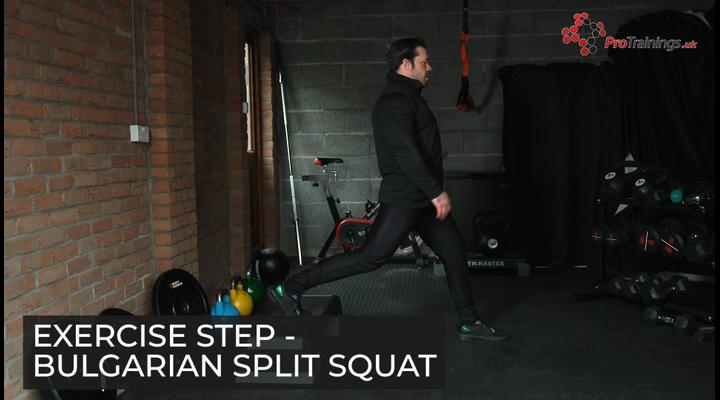 Step - Bulgarian squat
