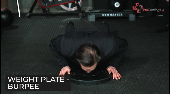 Weight plate - Burpie