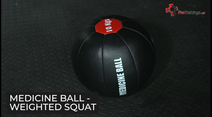 Medicine ball - Weighted squat