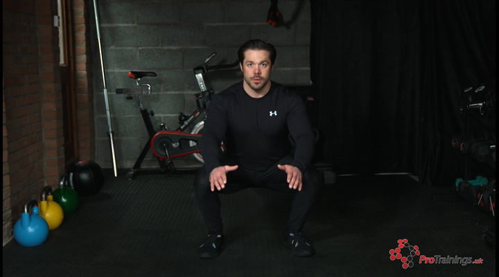 Lower Body Weight Resistance - Squat