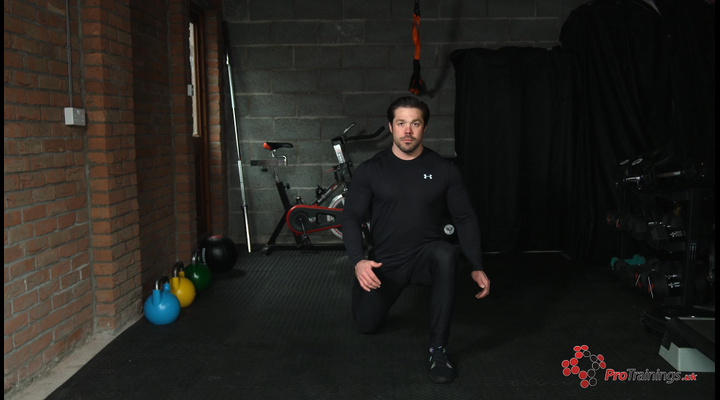 Lower Body Weight Resistance - Forward Lunge