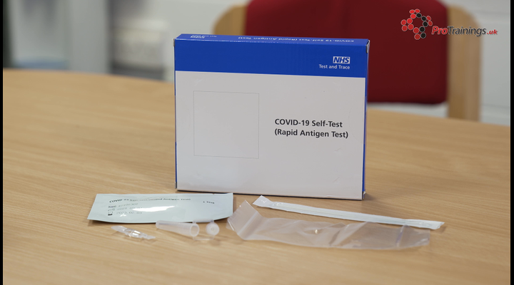 How to test yourself with a lateral flow test kit