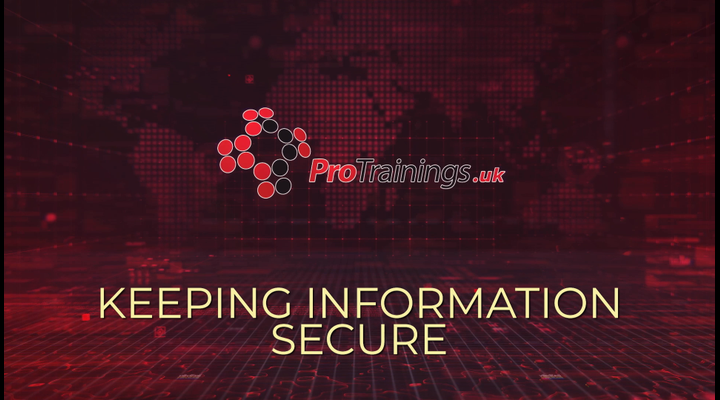 Keeping information secure during remote working