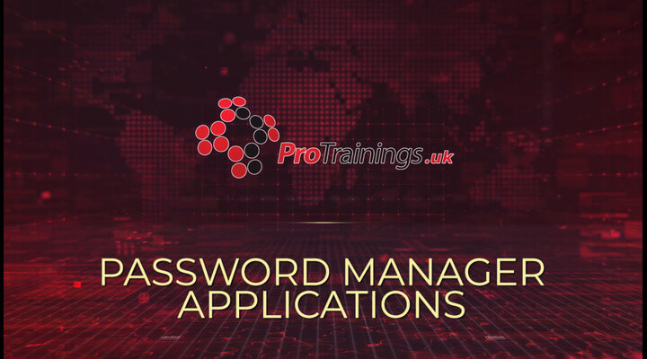 Password manager applications