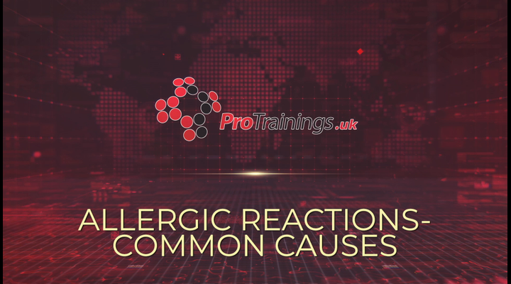 Common causes of allergic reactions